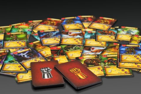 Karty monster a balíčky jejich schopností