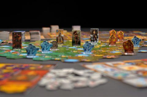 Figurky na mapě