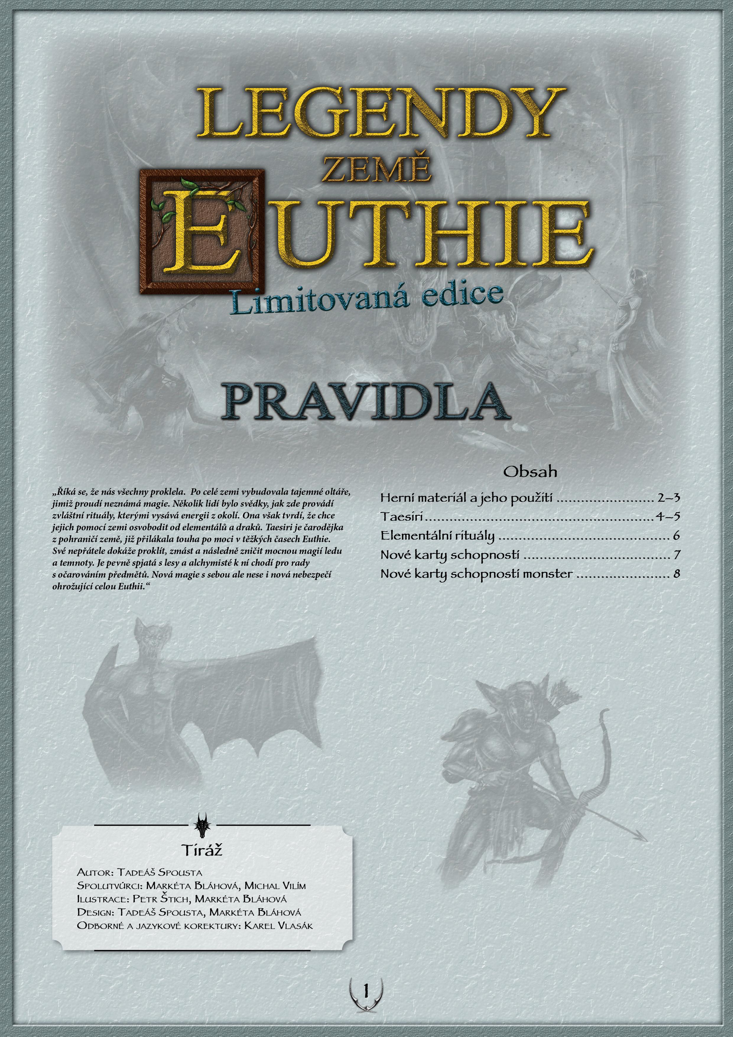 Pravidla limitovaná edice